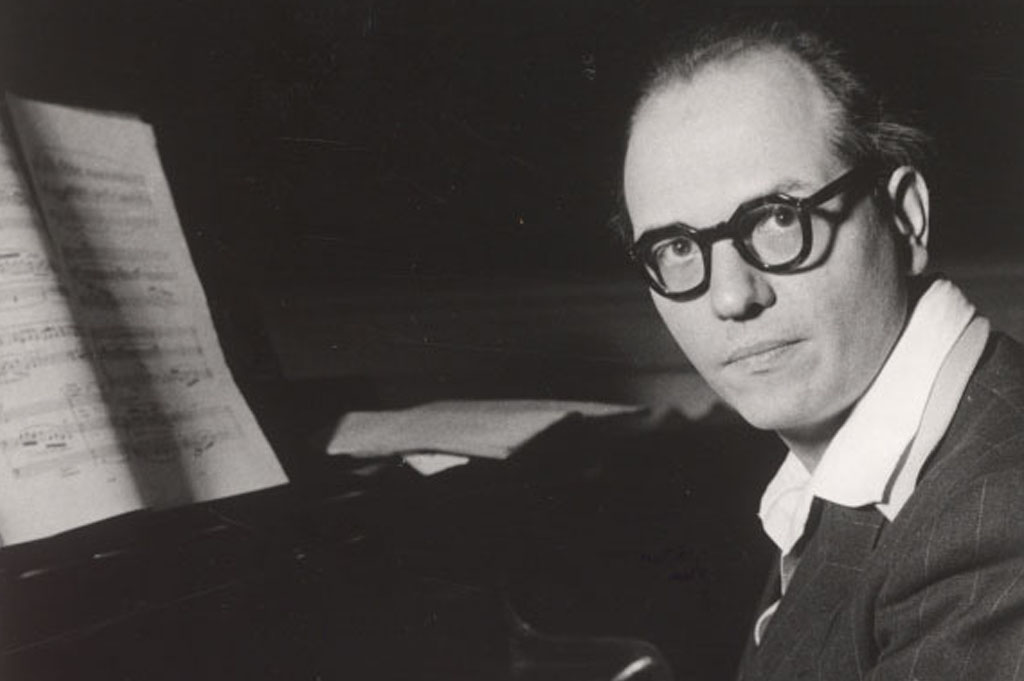 Olivier Messiaen au piano